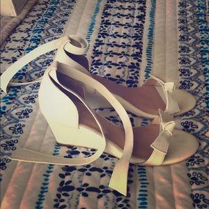 BHLDN Wedge Shoe (NWOT)